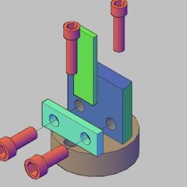 3D design sample holder for thermopower measurement