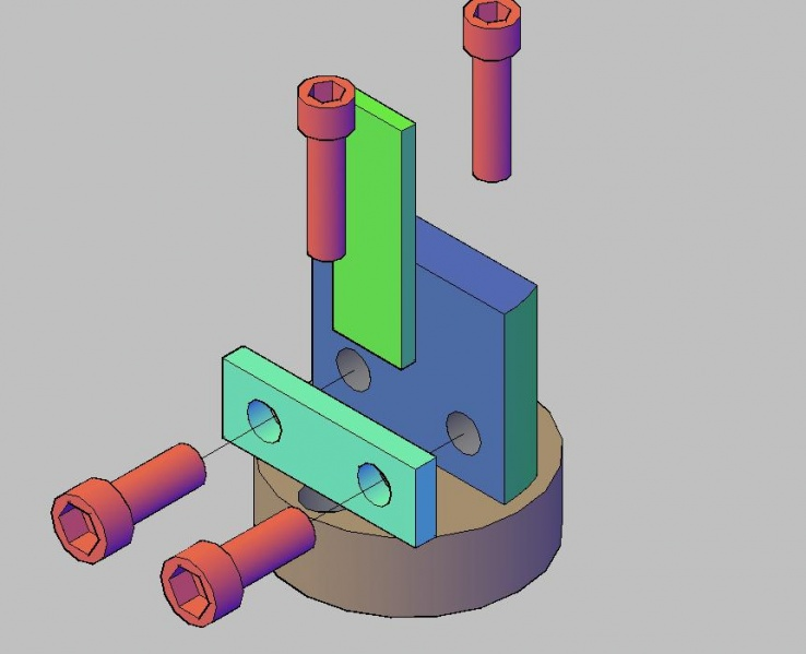 3D design sample holder for thermopower measurement