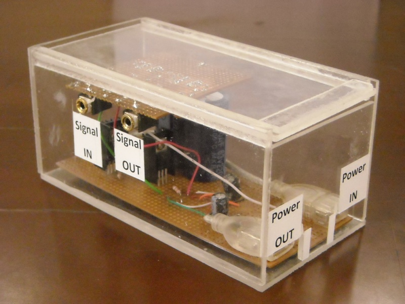 Plexiglass Circuit Box