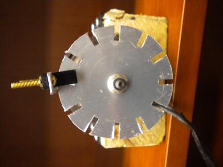 Electrospinning sensor gate