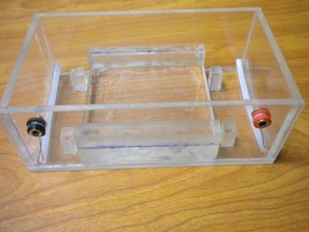 Electrophoresis chamber box