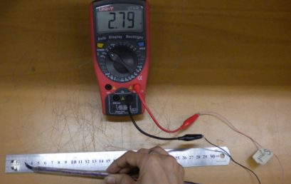 6. Voltage measurement using Hall probe
