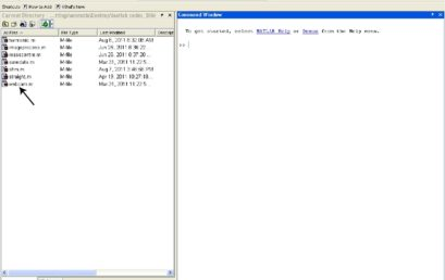 7. Your M-files must be in the current directory of MATLAB