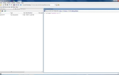11. loading the .txt file in MATLAB; click image for clarity