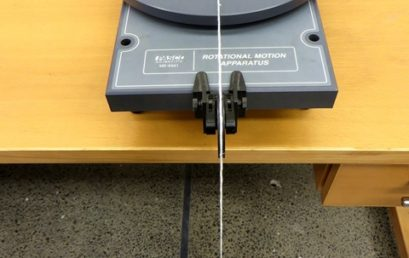7. Setting up for rotational friction measurement