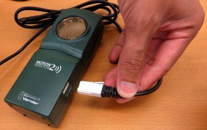 8. Motion sensor connection