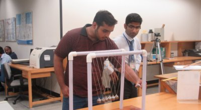 Government MAO College visits Physlab