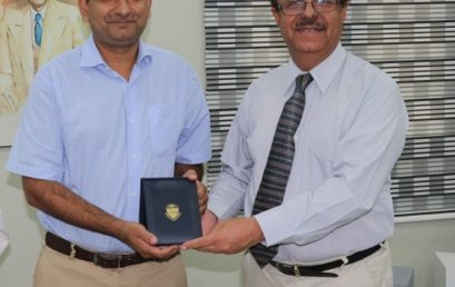 University of Peshawar honors Dr. Sabieh Anwar for his contributions to Physics Education
