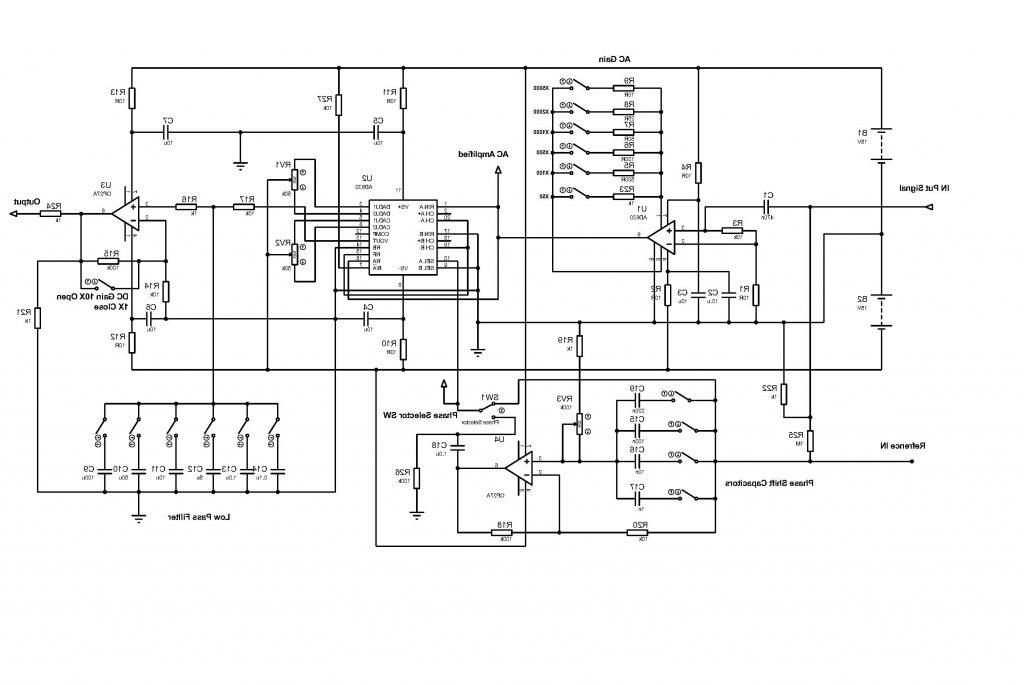 Physlock  U2013 An Entry Level Lockin Amplifier Board